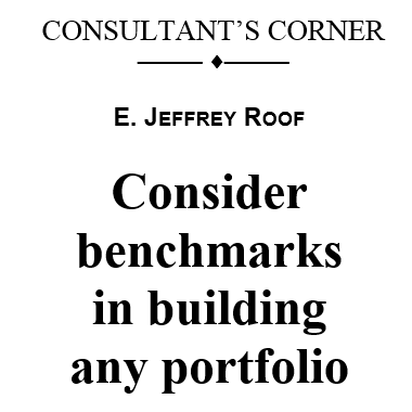 consultants corner benchmarks in building portfolio
