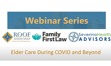 elder care during covid and beyond