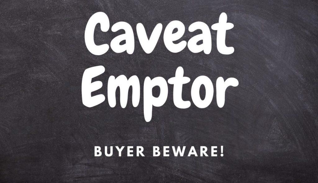 financial marketplace buyer beware