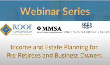income and estate planning webinar series
