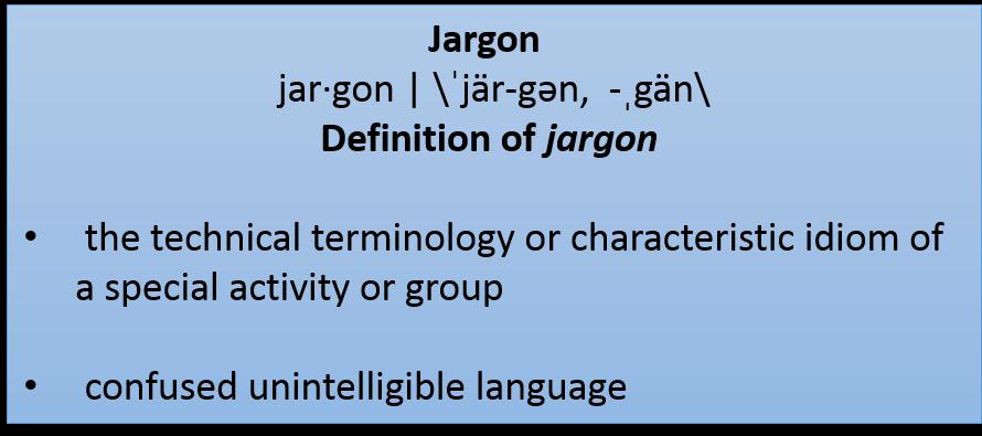 definition of jargon