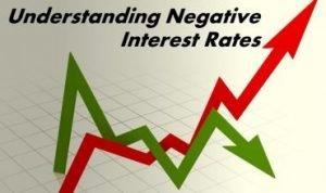 understanding negative interest rates