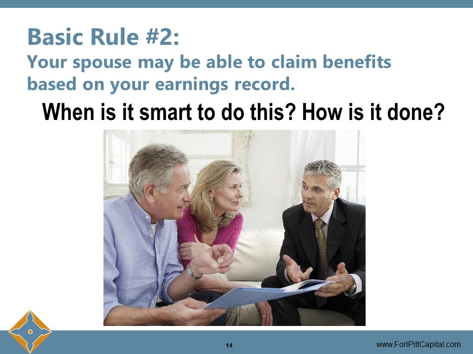 Spouse Claiming Benefits