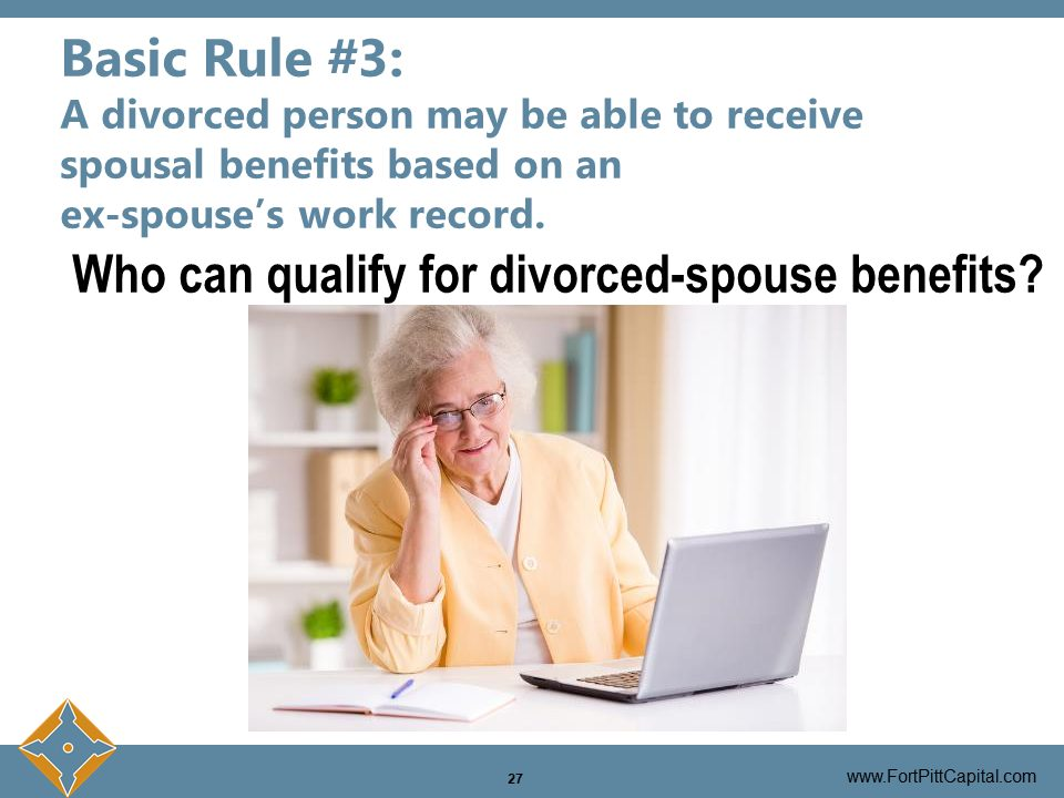 Divorced Person Social Security