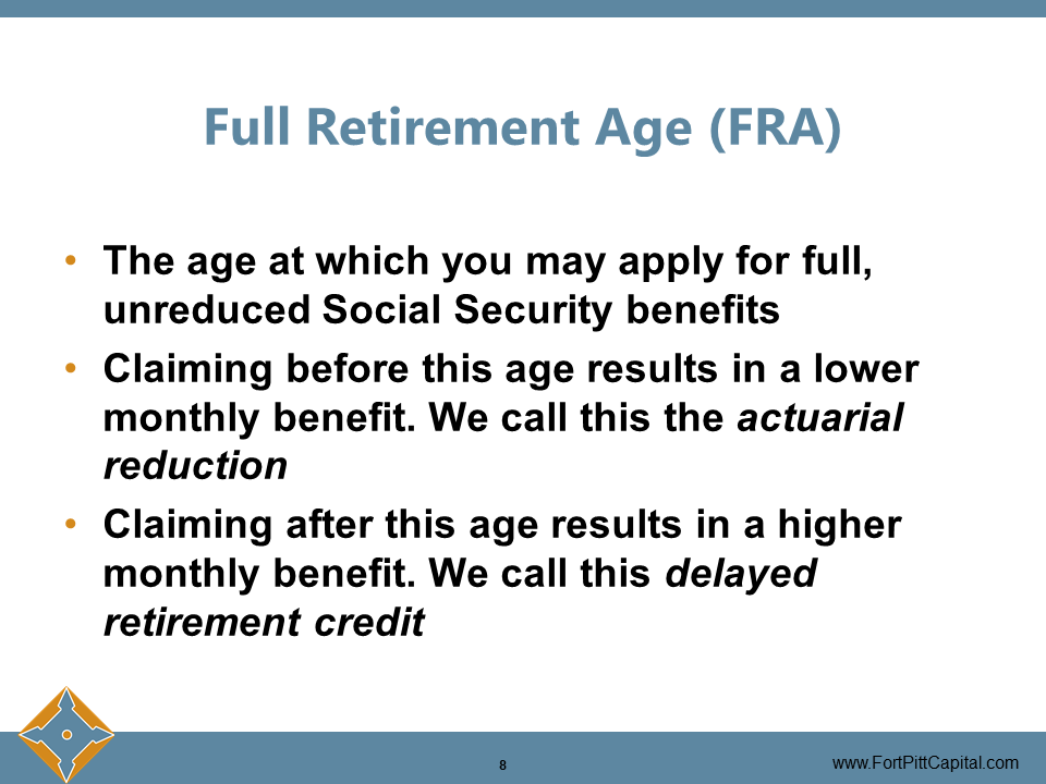 Full Retirement Age