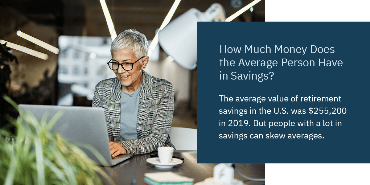 How Much Money Does the Average Person Have in Retirement Savings
