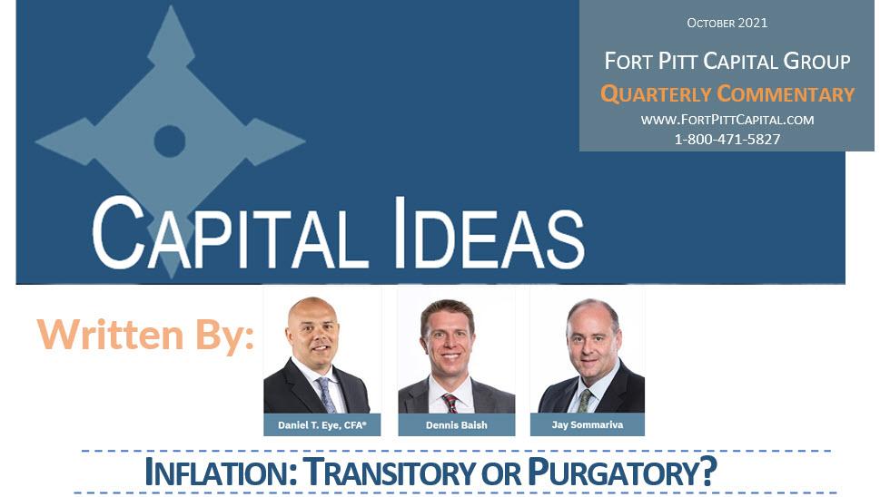 INFLATION: TRANSITORY OR PURGATORY?